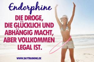 Endorphine und Stressabbau durch Sport