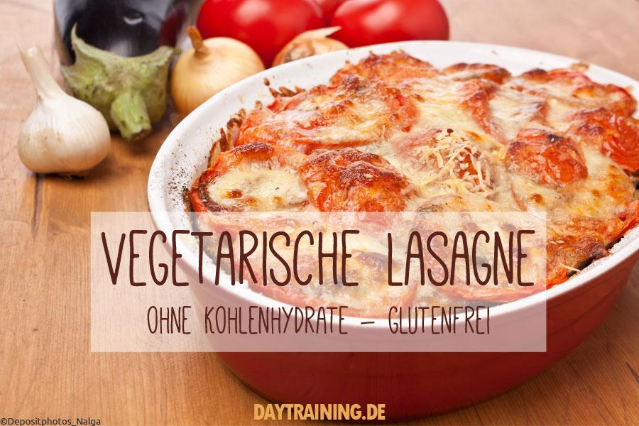 Vegetarische Lasagne ohne Kohlenhydrate