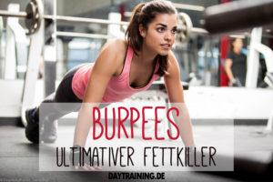 Burpees sind wahre Alleskönner. Sie trainieren Deine Muskeln, verbrennen Kalorien und stärken Dein Herz-Kreislaufsystem