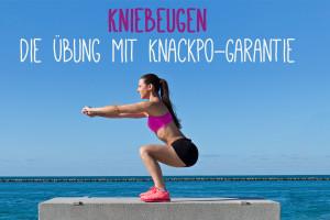 Kniebeugen – Die Übung mit Knackpo-Garantie