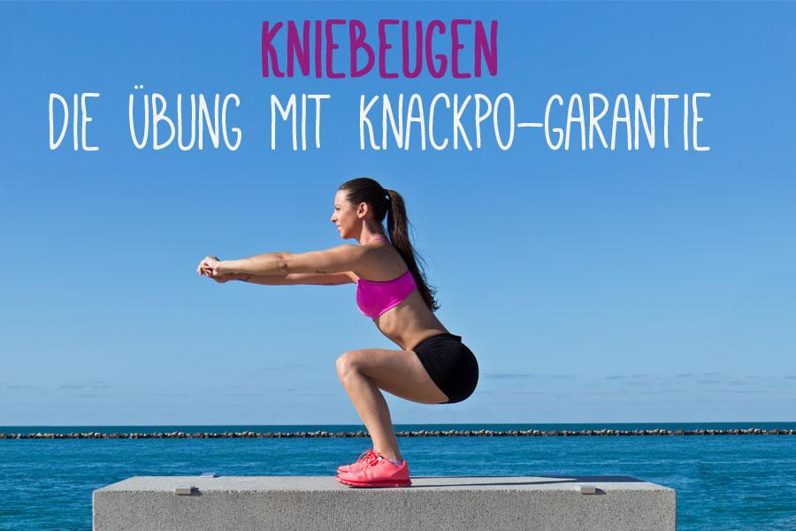 Kniebeugen richtig machen – die Übung für einen knackigen Hintern