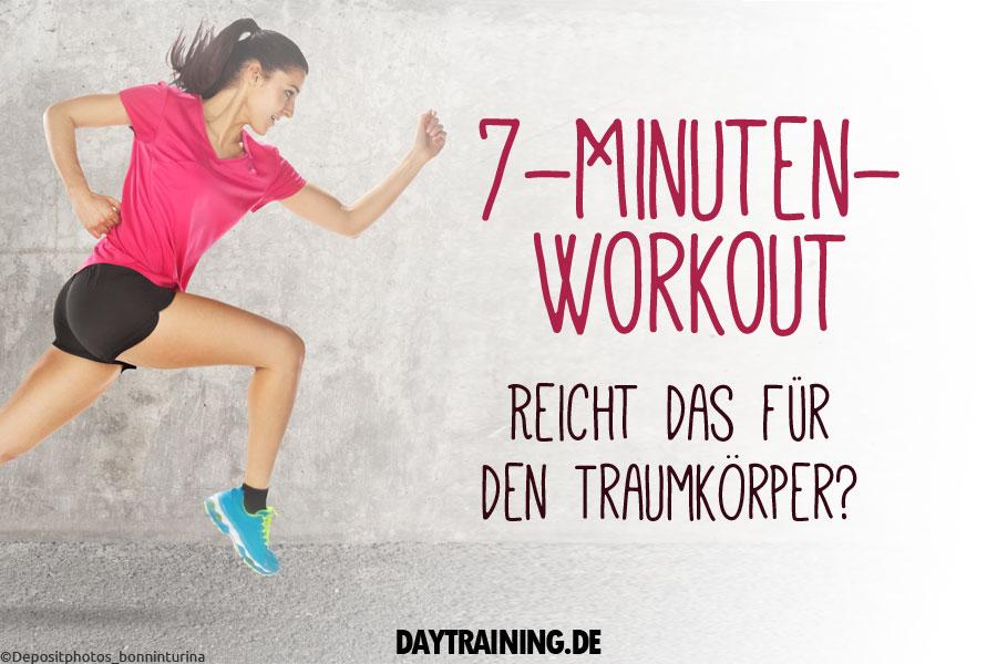 7-Minuten-Workout - Reicht das wirklich für den Traumkörper?
