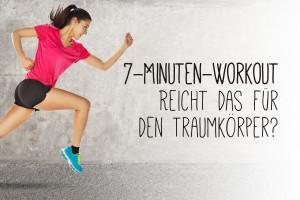 7-Minuten-Workout – Reicht das wirklich für den Traumkörper?