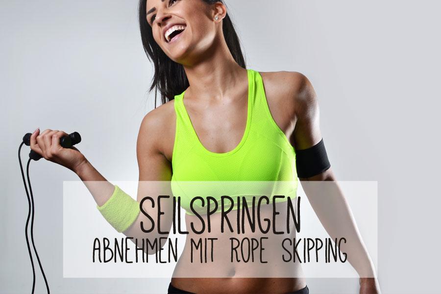 springseil workout abnehmen kalorienverbrauch übungen