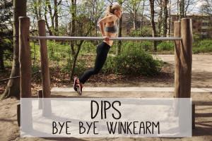 Dips sind eine komplexe und fordernde Fitness-Übung für die Armmuskulatur. Dafür versprechen sie straffe und definierte Arme.