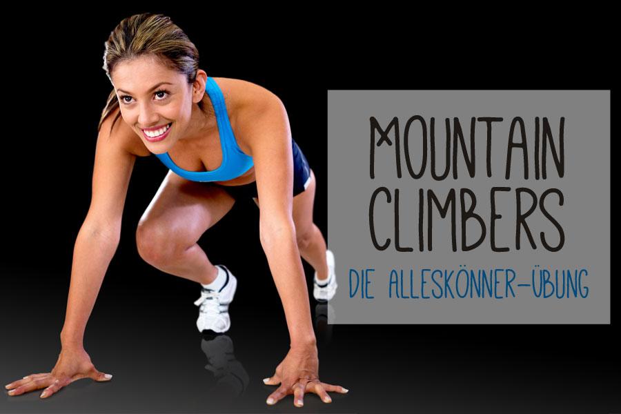 Mountain Climbers - Fit mit der Bergsteigerübung