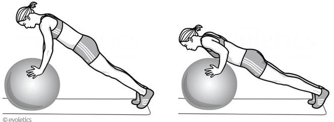 gymnastikball bungen f r mehr dynamik kraft und stabilit t. Black Bedroom Furniture Sets. Home Design Ideas
